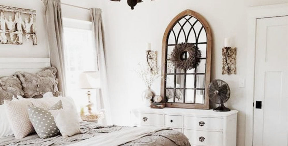 Vintage, Industrial, and Farmhouse Mirrors