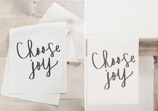 """Choose Joy"" Table Runner"