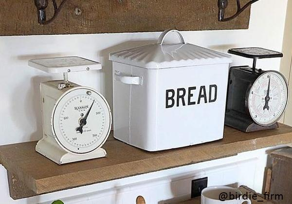 Enamel Bread Box Containers