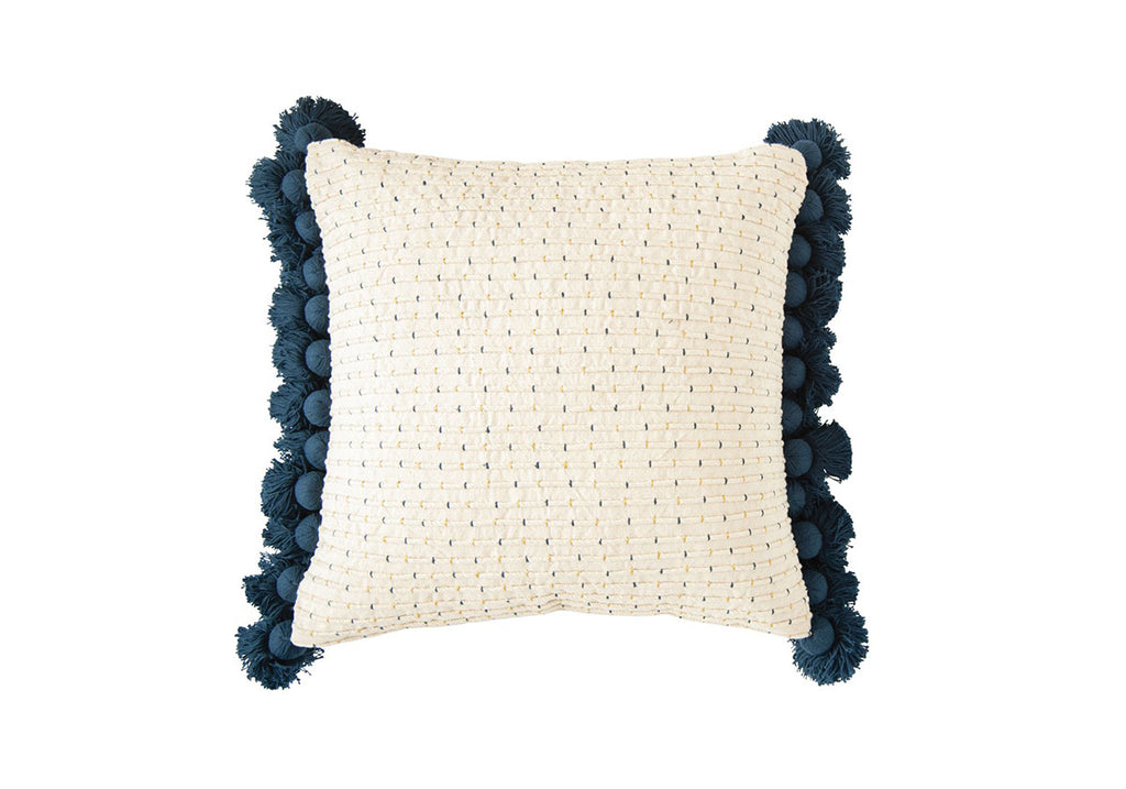 Janice Throw Pillow with Tassels