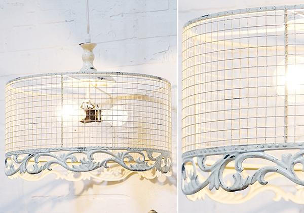 Vintage Style Metal Wire European Pendant Light