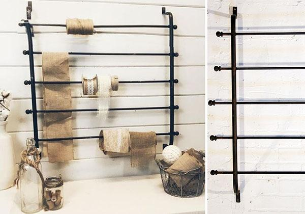Wall Mounted Ribbon Rack