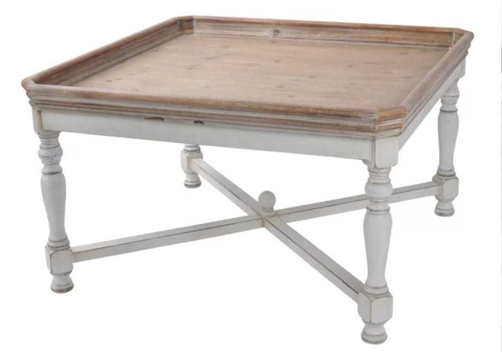 Norberg Wooden Tray Top Coffee Table