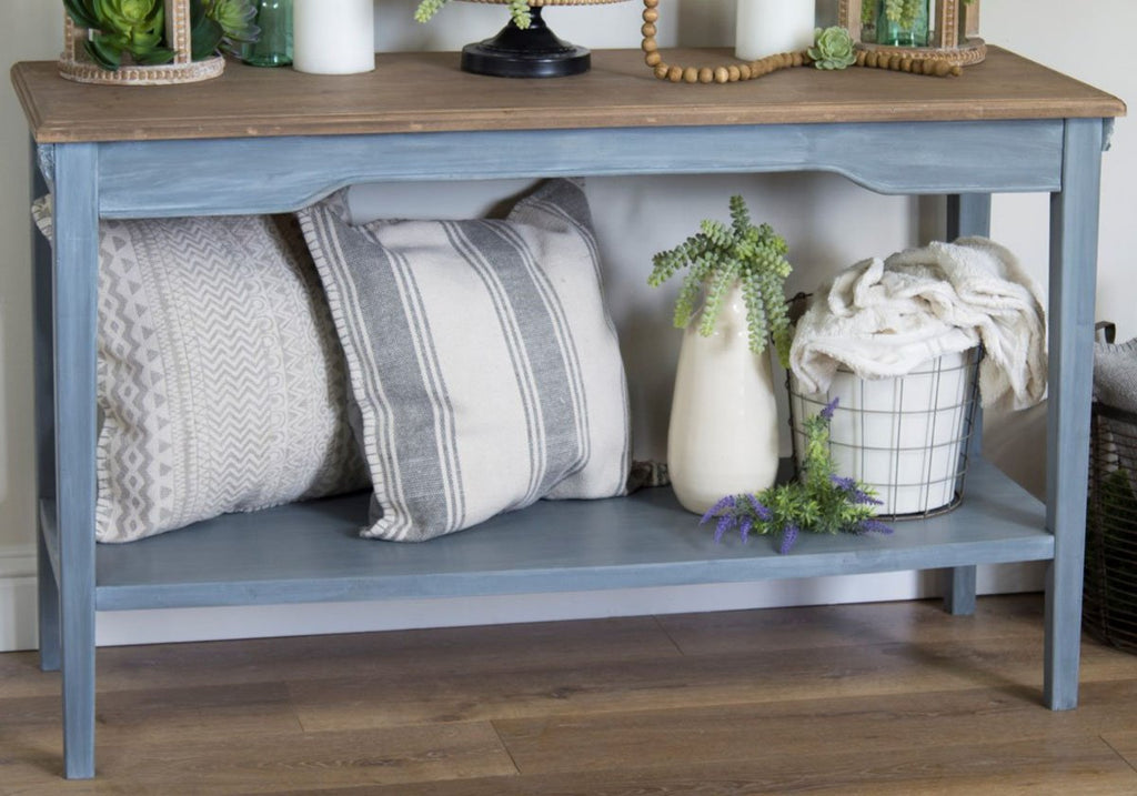 Withington Rustic Wood Console Table