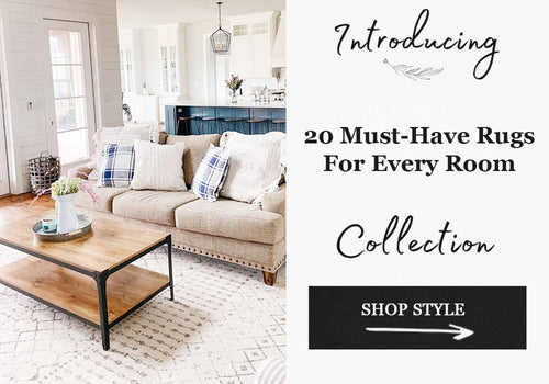 20 Must Have Farmhouse Rugs for Every Room