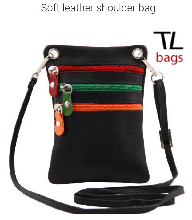 TL BAG (TL141094) Soft leather shoulder bag