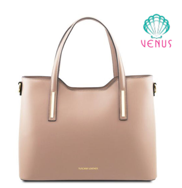 OLIMPIA (TL141412) Shopper bag in leather