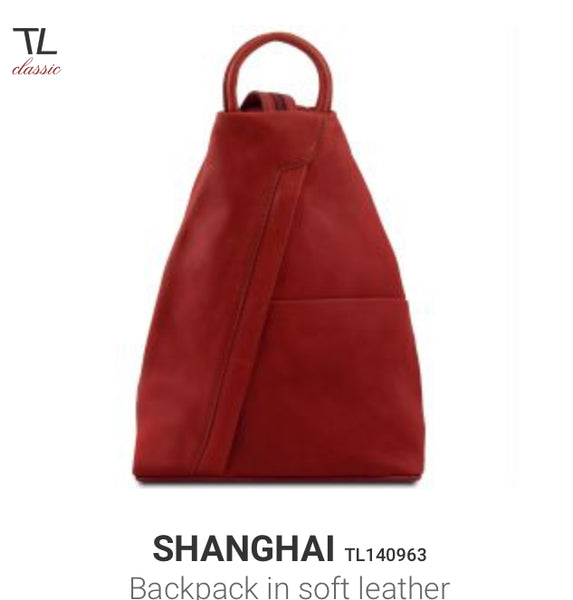 SHANGHAI (TL140963) Backpack in soft leather
