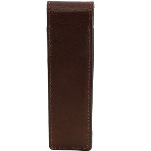 Exclusive leather pen holder - Black