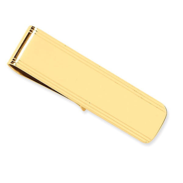 MC 28 Money Clip 14 Karat Yellow Gold