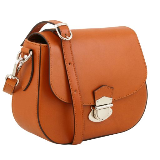 NEOCLASSIC Leather shoulder bag - Honey 141517