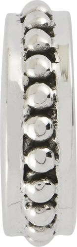 QRS1131 Sterling Silver Reflections Stopper/Spacer Bead