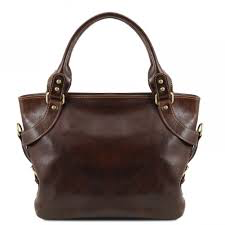 VITTORIA (TL141531) Bucket bag for women in leather
