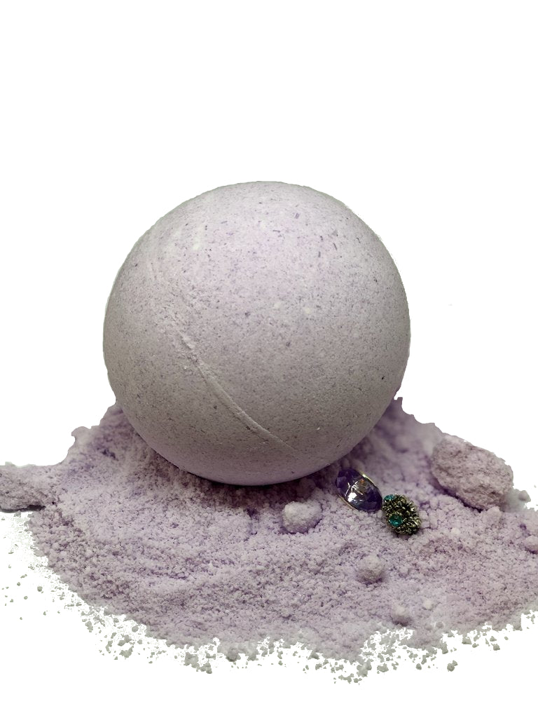 LAVENDER BATH BOMB 65mm