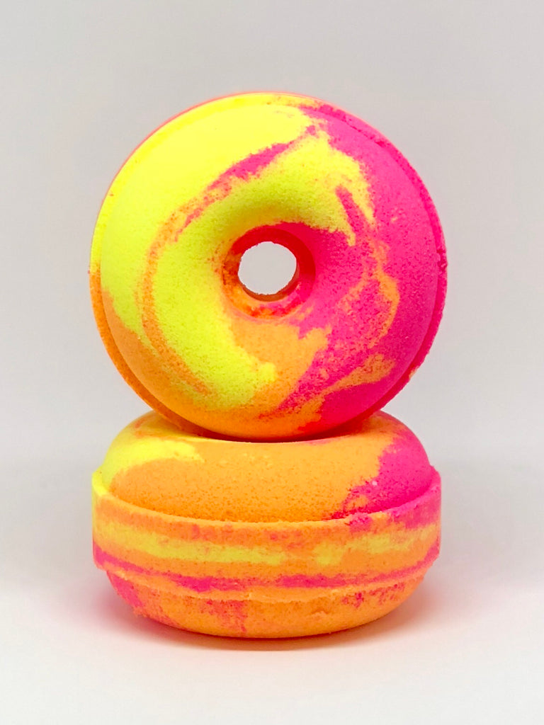 froot loops donut bath bomb