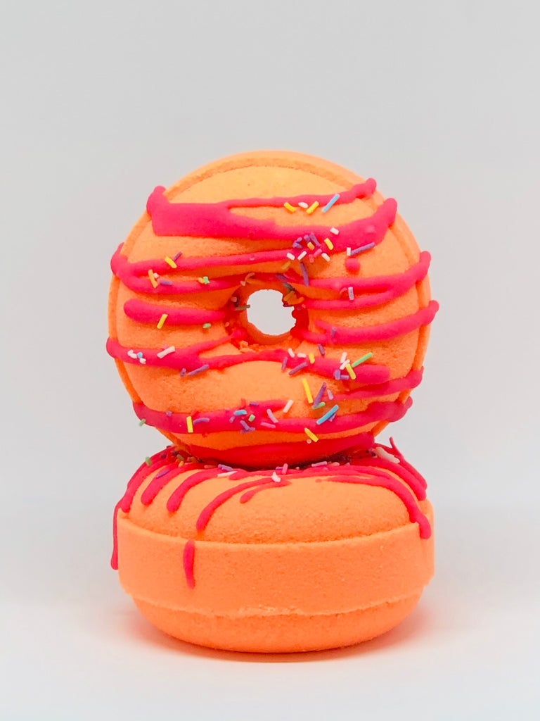 RED SKIN DONUT BATH BOMB