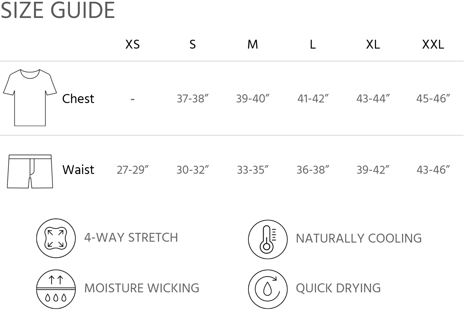 Fit Guide Chart