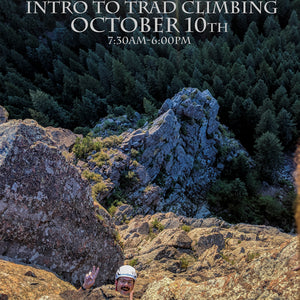 Intro To Trad Climbing October 10th