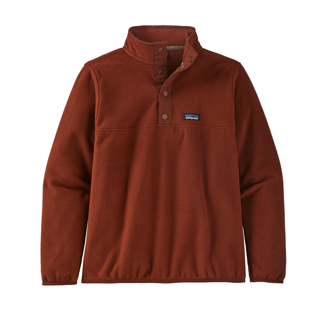 Micro D Snap T Pullover
