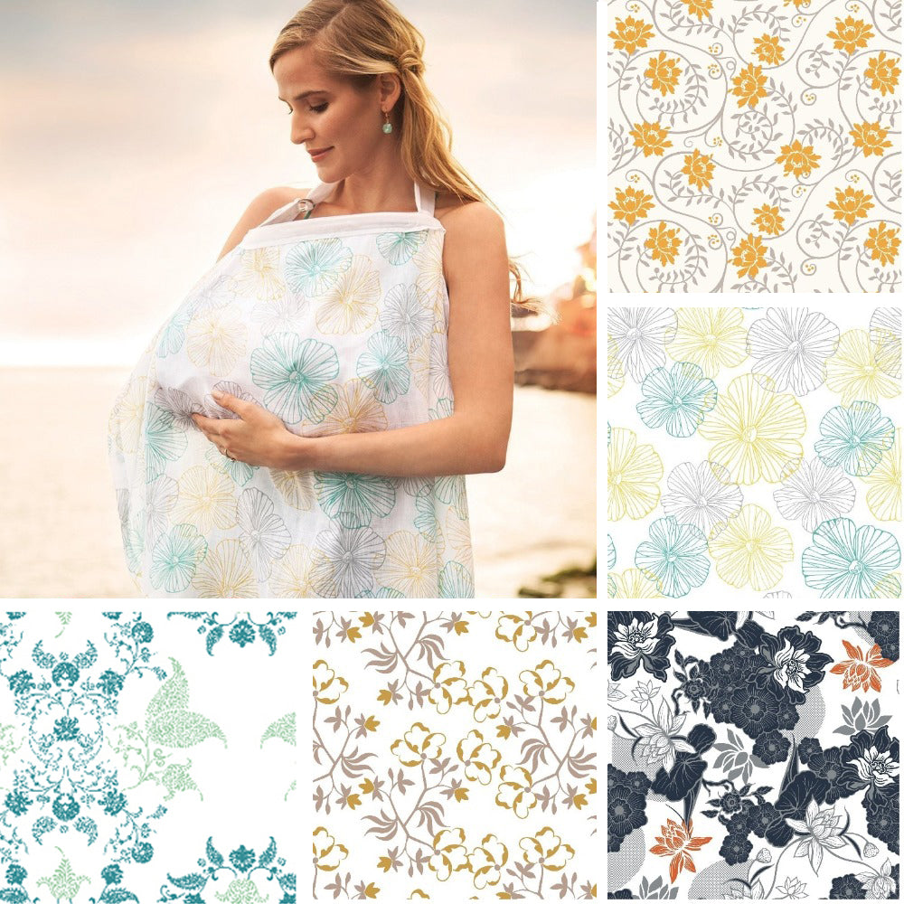Muslin Cotton Breastfeeding Cover