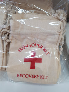 Recovery/Hangover kit bags