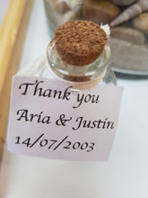 Mini sand bottle favours