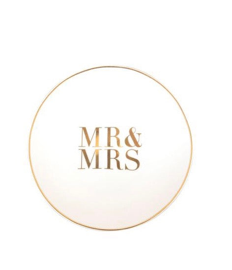 mr & mrs trinket dish