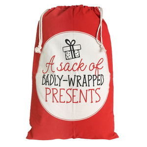 Christmas Presents Santa Sack