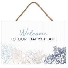 Hamptons Welcome Large Hanging Sign