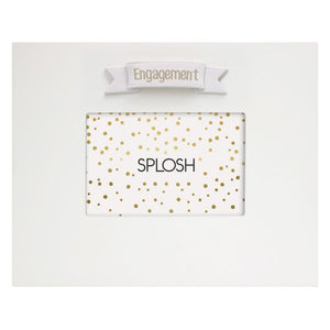 Engagement signature frame