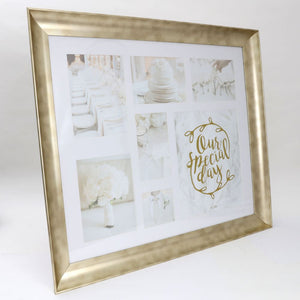 Wedding large collage frame