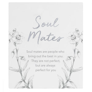 Soul mate verse plaque