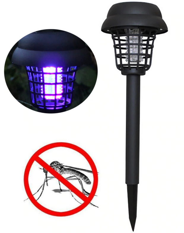 SOLAR BUG ZAPPER LAMP - BUY 1 GET 1 FREE!