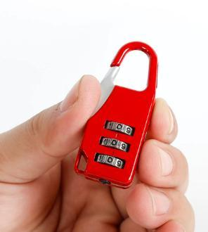 Travel Lock With 3 Digit Combination Code - PropelGear