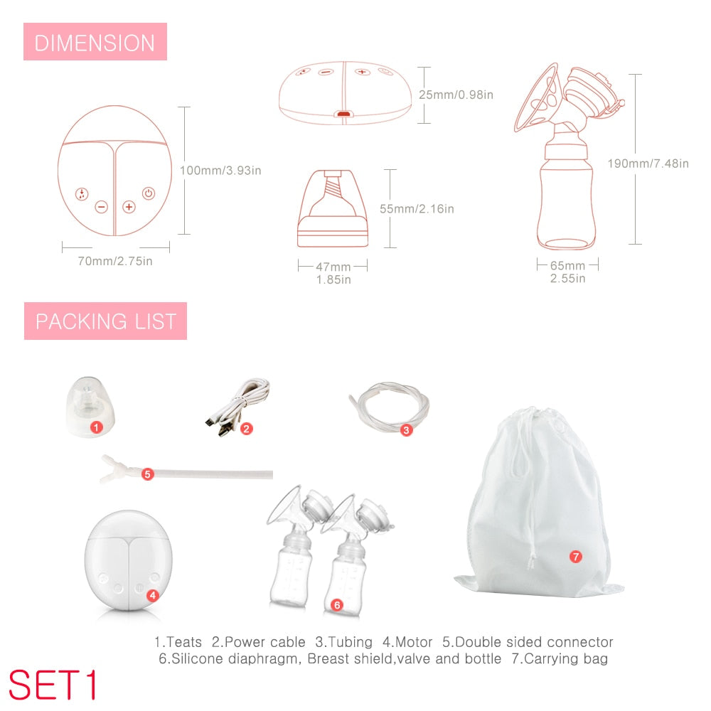 ELECTRIC BREAST PUMP - PropelGear