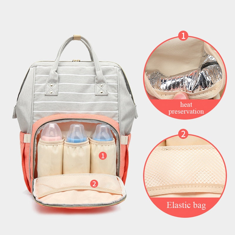 STYLISH DIAPER BAG FOR BABY - PropelGear