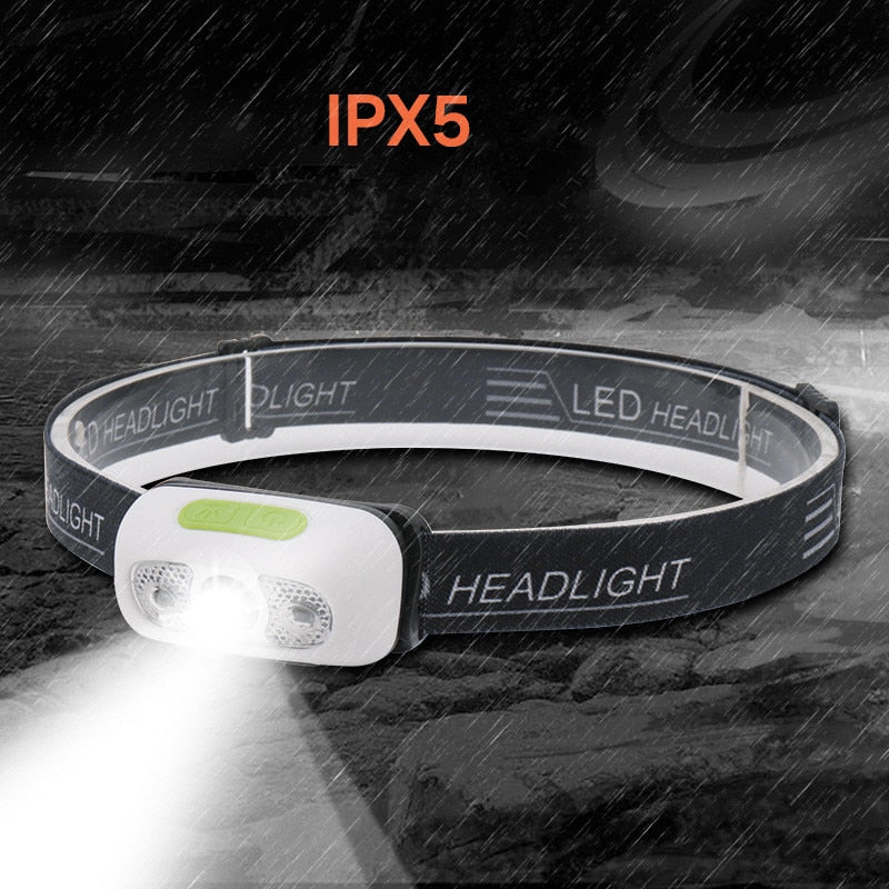 LED RECHARGEABLE MINI HEADLAMP - PropelGear
