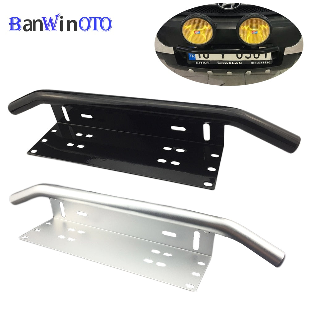 UNIVERSAL LICENSE PLATE BULL BAR - PropelGear