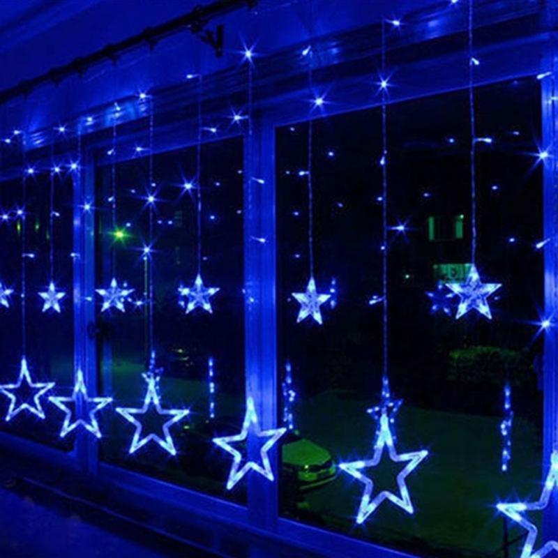 Led Christmas Lights Outdoor.Christmas Led Star String Lights Decoration Led Christmas Lights Outdoor Decorations