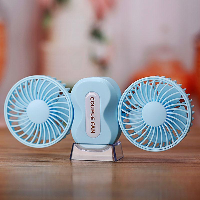 Double Air Conditioner - USB Chargeable - Double Fan Air Cooler - PropelGear