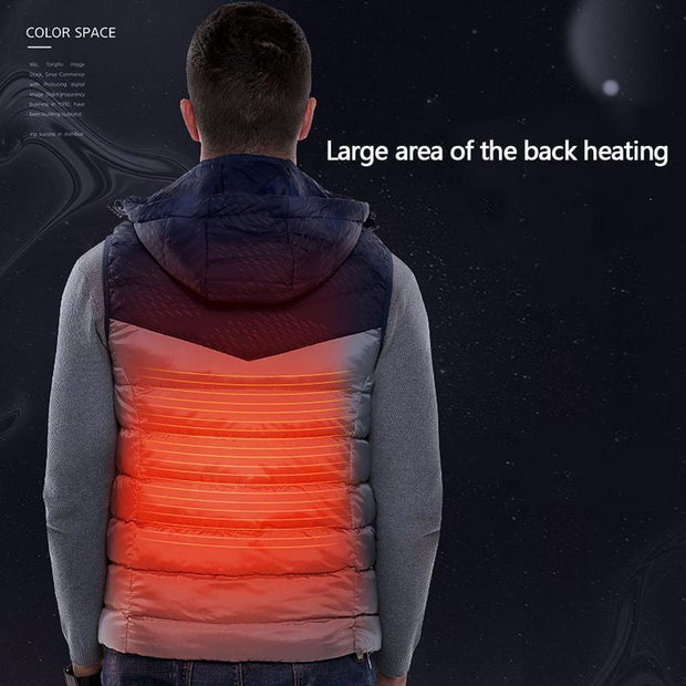 Electric Heating Mens Vest - PropelGear