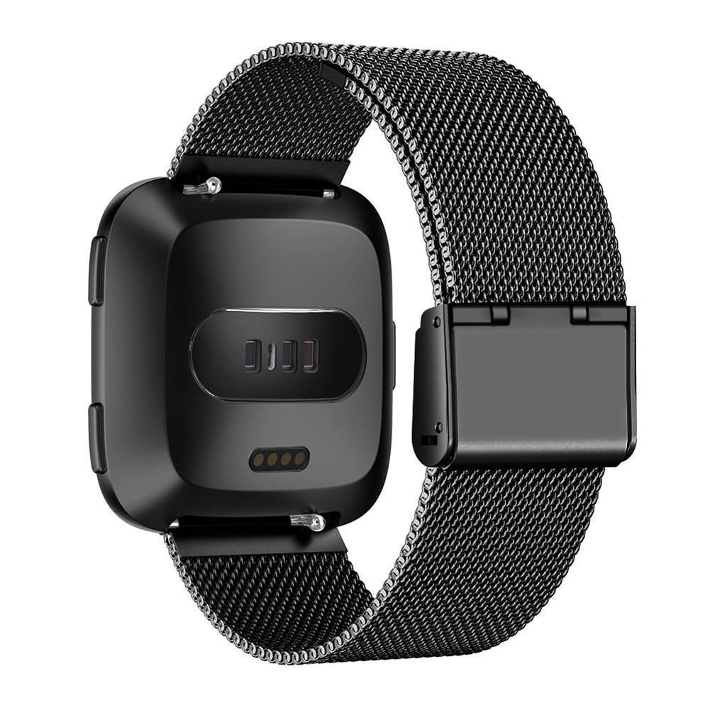 Fitbit Versa Smart Watch Stainless Steel Mesh Band Replacement Strap - PropelGear