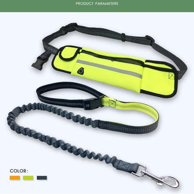 Hands-free Bungee Dog Harness Leash - PropelGear