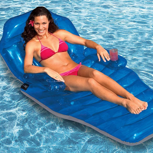 Inflatable Floating Lounge - Inflatable Floating Recliner Lounge Chair - PropelGear