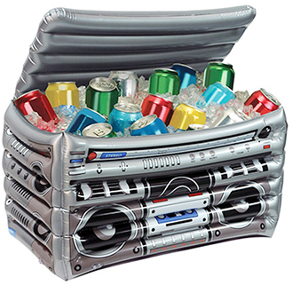 Inflatable Party Box Cooler - Party Stacker Cooler Box - PropelGear