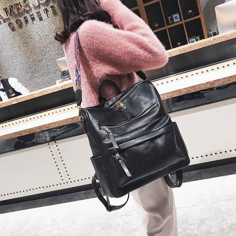 LEATHER BACKPACK For SCHOOL VINTAGE TRAVEL BACKPACK BAGS - PropelGear