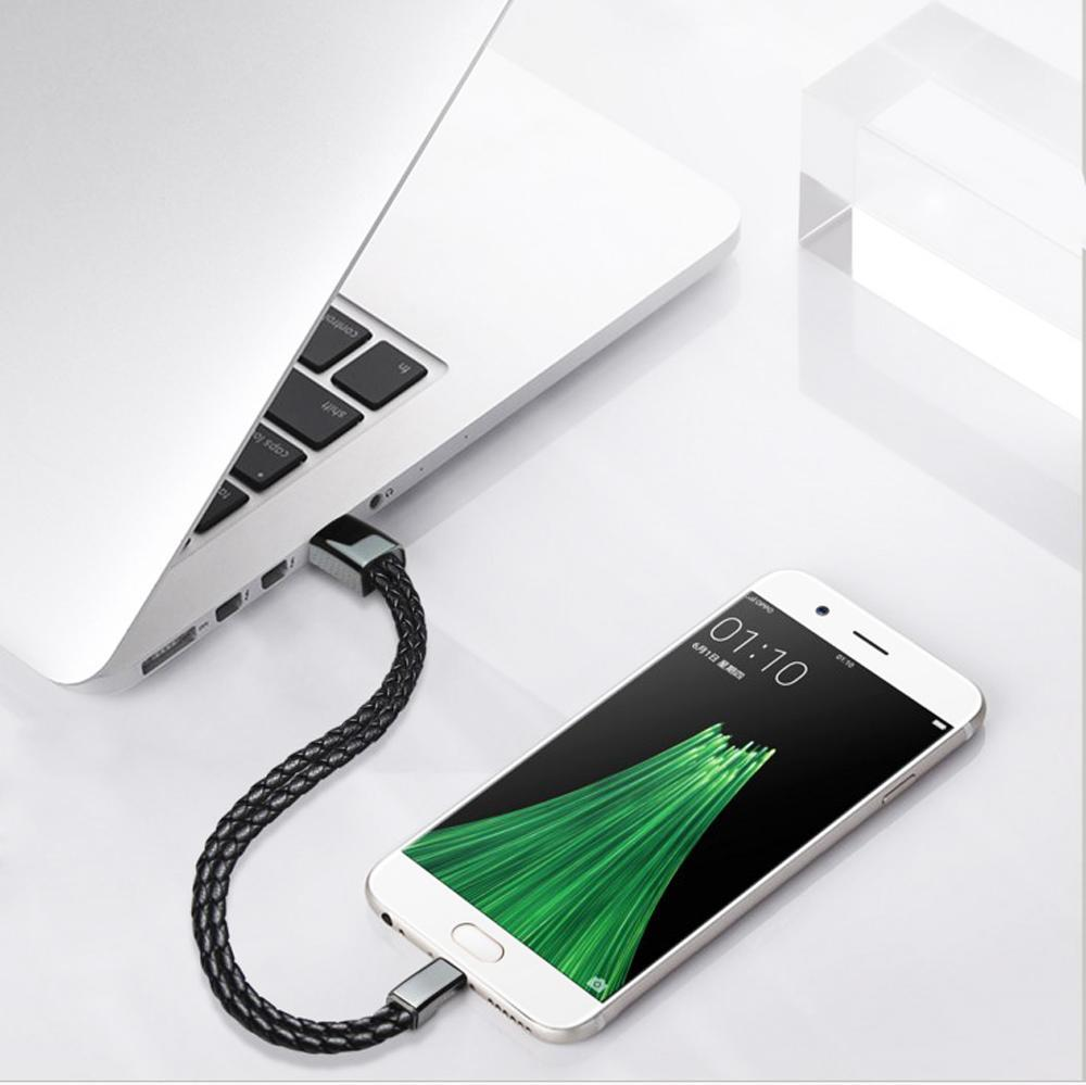 Leather Bracelet Charging Cord - PropelGear