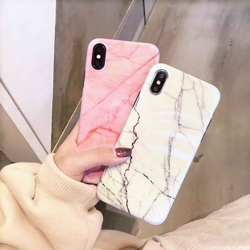 Marble Phone Case For iPhone - PropelGear
