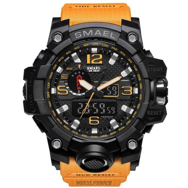 MILITARY DIGITAL WATCH SHOCK MEN'S WRISTWATCH SPORT LED WATCH FITNESS - PropelGear
