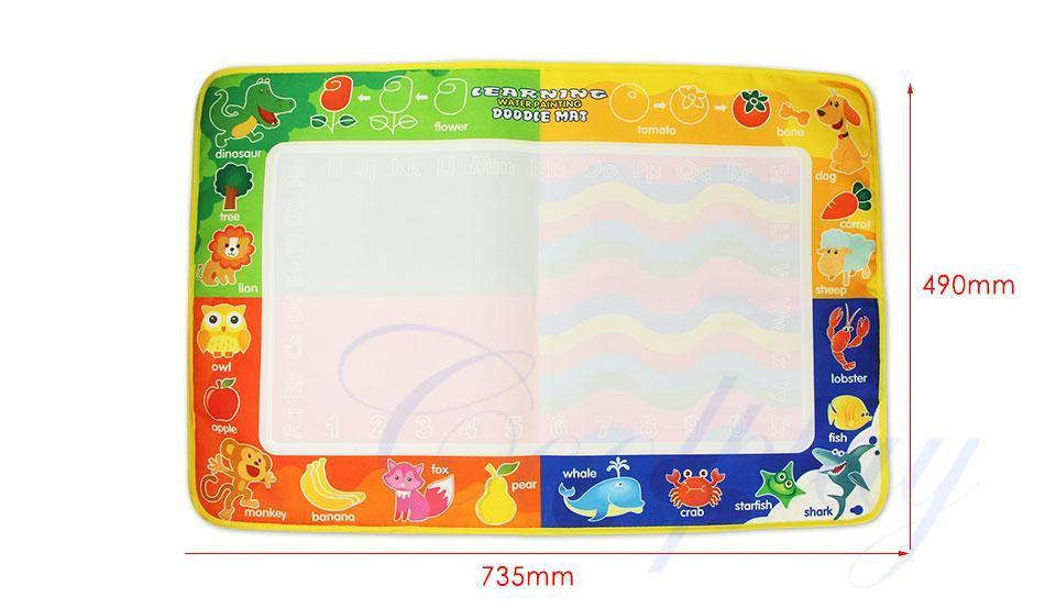 Multicolor Water Painting Drawing Mat - PropelGear